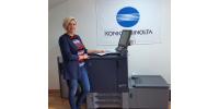 В демо-зале филиала ДИМИ-ДОС в Санкт-Петербурге установлена ЦПМ Konica Minolta AccurioPrint C2060L