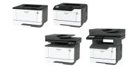 Начало продаж новых ультракомпактных БЮДЖЕТНЫХ моделей монохромных принтеров и МФУ Sharp формата A4 - MXB427PWEU / MXB467PEU / MXB427WEU / MXB467FEU