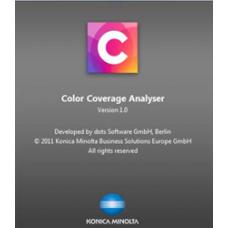 KONICA MINOLTA Color Coverage Analyzer